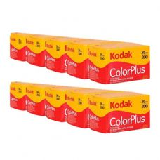 Kodak Color Plus 35mm 36 10 Pack